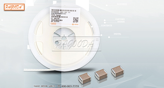 High voltage chip capacitor 1206 1KV