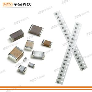 SMD electronic components such as coupling capacitors and bypass capacitors
