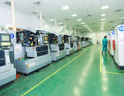SMD capacitor production room
